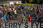 The Start of the 8th Annual Castleisland Rugby Club Cycle in aid of the Castleisland Day Care Centre on Sunday