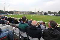 A bumper crowd looks on during Essex CCC vs Yorkshire CCC, Specsavers County Championship Division 1 Cricket at The Cloudfm County Ground on 25th September 2017