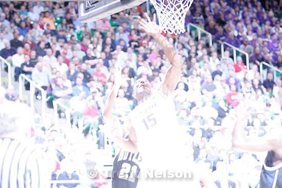 Trent Nelson  |  The Salt Lake Tribune.Salt Lake City - Butler vs. Kansas State, NCAA West Regional (Final Eight), Saturday, March 27, 2010. Kansas State center Luis Colon (15)