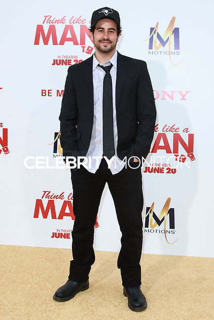 HOLLYWOOD, LOS ANGELES, CA, USA - JUNE 09: Adam Korson at the Los Angeles Premiere Of Screen Gems' 'Think Like A Man Too' held at the TCL Chinese Theatre on June 9, 2014 in Hollywood, Los Angeles, California, United States. (Photo by David Acosta/Celebrity Monitor)