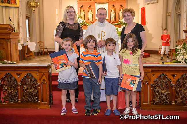 Polish School Graduation at St. Agatha Parish in St. Louis on May 18, 2013.