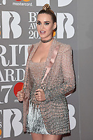 Katy Perry<br /> arrives for the BRIT Awards 2017 held at the O2 Arena, Greenwich, London.<br /> <br /> <br /> &copy;Ash Knotek  D3233  22/02/2017