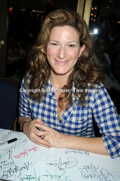 Ana Gasteyer  attends the 25th Annual Broadway Flea Market and Grand Auction benefiting Broadway Cares/ Equity Fights Aids on September 25, 2011 at Shubert Alley.