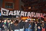 BILBAO. ESPAÑA. POLITICA.<br /> Manifestación pro derechos de los presos vascos; a 04/01/2014.<br /> En la imagen :