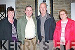 FESTIVAL DANCE: Having a great time at the Dan, Paddy & Andy Festival fundraiser dance at Earl of Desmond Hotel on Friday l-r: Kay and Kevin Murphy, Glenbeigh and Joe and Eileen Enright, Lyrecompane.   Copyright Kerry's Eye 2008