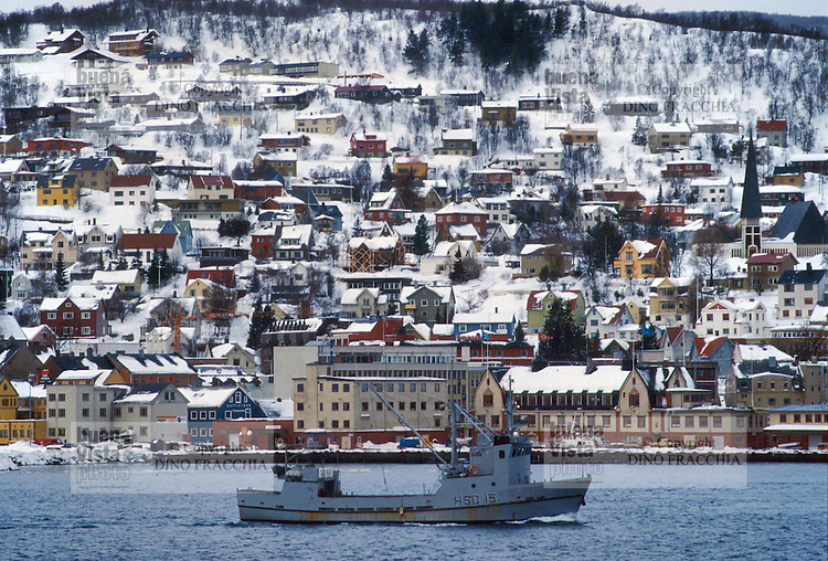 - Norway, the Harstad Town..- Norvegia, la città di  Harstad