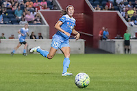 Bridgeview, IL - Saturday July 23, 2016:  Chicago Red Stars midfielder Vanessa DiBernardo (10) during a regular season National Women's Soccer League (NWSL) match between the Chicago Red Stars and the Houston Dash at Toyota Park.