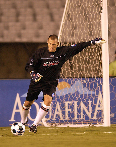 DALLAS, TX -SEPTEMBER 25: Matt Jordan #1 of the Dallas Burn against Colorado Rapids at Cotton Bowl in Dallas on September 25, 2002 in Dallas, Texas. (Photo by Rick Yeatts)