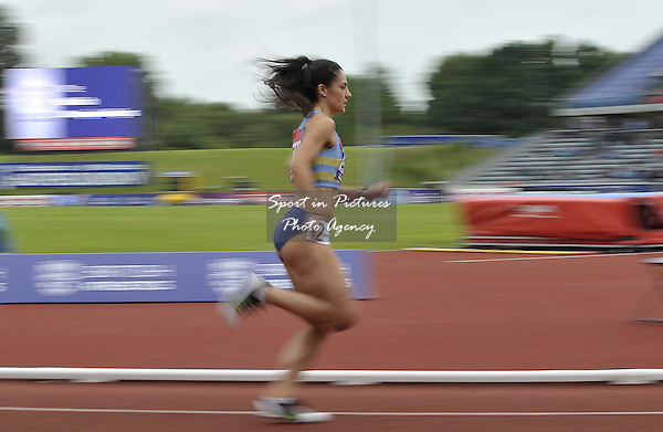 Leah Barrow (Hounslow) in the womens 800m. British Athletics Championships. Alexander Stadium. Birmingham. UK. 26/06/2016. ~ MANDATORY CREDIT Garry Bowden/SIPPA - NO UNAUTHORISED USE - +447837 394578