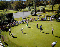 Bethel Inn. Putting contest watched by hotel guests.