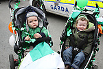 Luke and Conor at the 2011 St.Patrick's Day Parade in Dunleer...(Photo credit should read Jenny Matthews/www.newsfile.ie)....This Picture has been sent you under the conditions enclosed by:.Newsfile Ltd..The Studio,.Millmount Abbey,.Drogheda,.Co Meath..Ireland..Tel: +353(0)41-9871240.Fax: +353(0)41-9871260.GSM: +353(0)86-2500958.email: pictures@newsfile.ie.www.newsfile.ie.