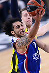 Turkish Airlines Euroleague.<br /> Final Four - Vitoria-Gasteiz 2019.<br /> Semifinals.<br /> Fenerbahce Beko Istanbul vs Anadolu Efes Istanbul: 73-92.<br /> Jan Vesely vs Shane Larkin.