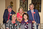 Joan Burton meets her Labour collegues at the Killarney Royal Hotel on Friday l-r: Sean Counihan, Maria Moloney, Breda Monihan Cronin, Joan Burton and Sean O'Grady