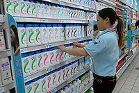 Head and Shoulders shampoo products by Proctor and Gamble in a supermarket in Chengdu, China. A rapidly expanding middle class has created a large market for many products not previously sold in China..20 Sep 2006