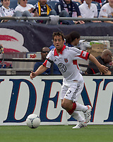 DC United midfielder Danny Cruz (2). In a Major League Soccer (MLS) match, DC United defeated the New England Revolution, 2-1, at Gillette Stadium on April 14, 2012.