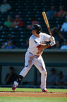 Mesa Solar Sox first baseman Eric Aguilera (24) at bat during an Arizona Fall League game against the Glendale Desert Dogs on October 14, 2015 at Sloan Park in Mesa, Arizona.  Glendale defeated Mesa 7-6.  (Mike Janes/Four Seam Images)