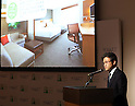 December 1, 2016, Tokyo, Japan - Hirohide Abe, Hyatt's Japanese representative announces that Hyatt and Japanese developer Sogo Bussan will open Hyatt Place brand hotel in Urayasu near Tokyo Disneyland in 2019 at a press conference in Tokyo on Thursday, December 1, 2016. Hyatt Place Tokyo Bay is Japan's first Hyatt Place brand hotel which offers casual and selected services to customers.  (Photo by Yoshio Tsunoda/AFLO) LWX -ytd-