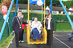 Unveling of the new exercise furniture in Dominica Park, by Mayor Kevin Callan..Picture Fran Caffrey www.newsfile.ie