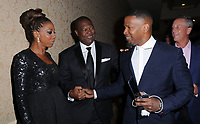 11 August  2017 - Beverly Hills, California - Holly Robinson-Peete, Rodney Peete, Jamie Foxx. 17th Annual Harold & Carole Pump Foundation Gala held at The Beverly Hilton Hotel in Beverly Hills. Photo Credit: Birdie Thompson/AdMedia