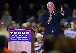 Republican Vice Presidential candidate Mike Pence speaks at a rally in Carson City, Nev., on Monday, Aug. 1, 2016. Cathleen Allison/Las Vegas Review Journal