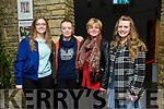 Hazel, Gloria, Siobhan and Emily Keane enjoying the Light Opera Society of Tralee production of Evita at Siamsa Tire on Thursday