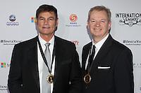NEW YORK, NY - NOVEMBER 19: Zane Bair and Michael McKay at the 40th International Emmy Awards in New York. November 19, 2012. © Diego Corredor/MediaPunch Inc. /NortePhoto
