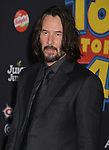 "Keanu Reeves 035 arrives at the premiere of Disney and Pixar's ""Toy Story 4"" on June 11, 2019 in Los Angeles, California."
