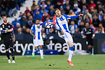 Ruben Perez of Deportivo Leganes in action during their La Liga match between Deportivo Leganes and Real Madrid at the Estadio Municipal Butarque on 05 April 2017 in Madrid, Spain. Photo by Diego Gonzalez Souto / Power Sport Images