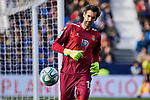 Diego Lopez of RCD Espanyol during La Liga match between CD Leganes and RCD Espanyol at Butarque Stadium in Leganes, Spain. December 22, 2019. (ALTERPHOTOS/A. Perez Meca)