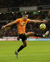Wolverhampton Wanderers' Conor Coady<br /> Photographer Lee Parker/CameraSport<br /> <br /> The Premier League - Wolverhampton Wanderers v Newcastle United - Saturday 11th January 2020 - Molineux - Wolverhampton<br /> <br /> World Copyright © 2020 CameraSport. All rights reserved. 43 Linden Ave. Countesthorpe. Leicester. England. LE8 5PG - Tel: +44 (0) 116 277 4147 - admin@camerasport.com - www.camerasport.com
