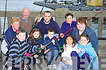 FISHING: Fishing for the Kerry Hospice Foundation at Fenit Pier on Sunday. Were: Luke Murphy O'Sullivan, Anne Kelter, Jim, Leah and Robert Browne, Alex Erswell, Breda Browne, Maureen Harris, Jack and Sarah Ferguson......... ..............................   Copyright Kerry's Eye 2008