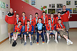Drogheda Town U-11 League division 1 Runners up. Photo:Colin Bell/pressphotos.ie