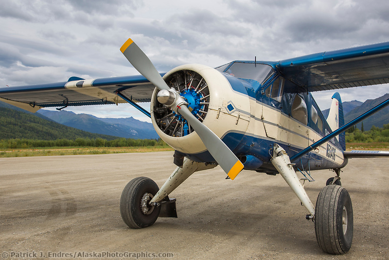 Coyote Air bush plane, Coldfoot Alaska