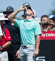 Rory McIlroy of Northern Ireland in action during his third round at the Emirates Australian Open Golf