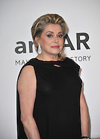 Catherine Deneuve  at the 21st annual amfAR Cinema Against AIDS Gala at the Hotel du Cap d'Antibes.<br /> May 22, 2014  Antibes, France<br /> Picture: Paul Smith / Featureflash
