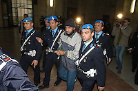 NOV 6, 2006 Milan Italy: the Court of assizes of Milan has condemned to ten years of confinement, for association in order to commit a crime finalized to the international terrorism Osman Rabei, thought the organizer of the massacres of Madrid of 11 March 2004..6 NOV 2006 Milano:La Corte d'Assise di Milano ha condannato a dieci anni di reclusione, per associazione per delinquere finalizzata al terrorismo internazionale Osman Rabei, ritenuto l'organizzatore delle stragi di Madrid dell'11 marzo 2004.