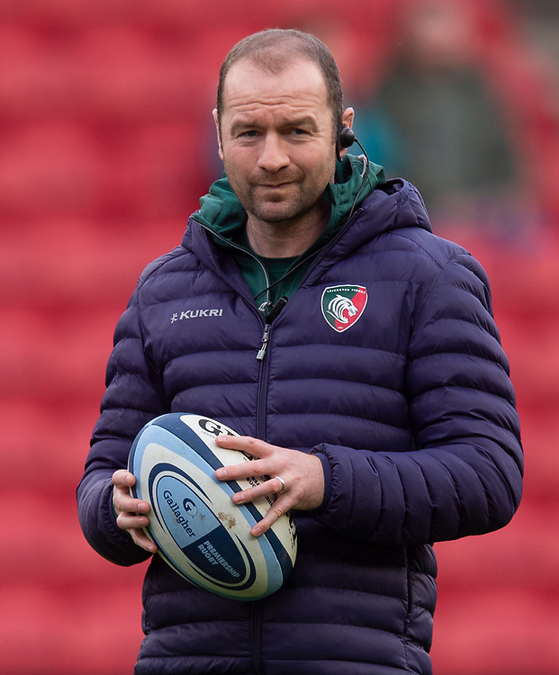 Leicester Tigers' Head Coach Geordan Murphy<br /> <br /> Photographer Bob Bradford/CameraSport<br /> <br /> Gallagher Premiership - Bristol Bears v Leicester Tigers - Saturday 1st December 2018 - Ashton Gate - Bristol<br /> <br /> World Copyright © 2018 CameraSport. All rights reserved. 43 Linden Ave. Countesthorpe. Leicester. England. LE8 5PG - Tel: +44 (0) 116 277 4147 - admin@camerasport.com - www.camerasport.com