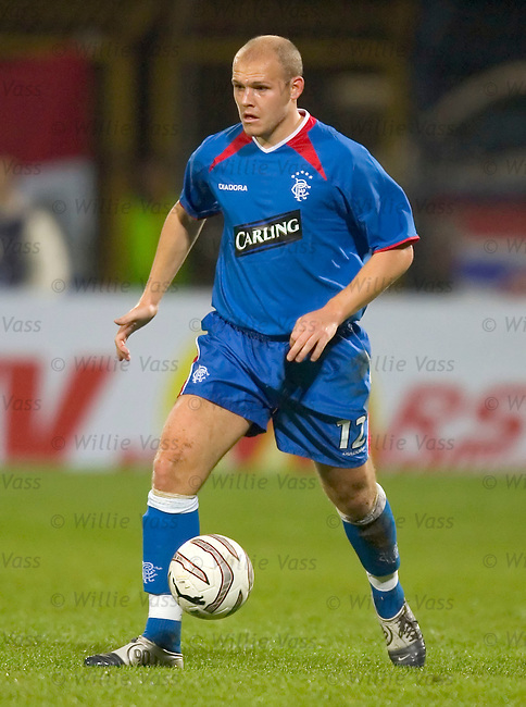 Bob Malcolm, Rangers.stock season 2004-2005.pic willie vass