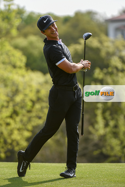 Thorbjorn Olesen (DEN) reacts to his tee shot on 3 during day 2 of the WGC Dell Match Play, at the Austin Country Club, Austin, Texas, USA. 3/28/2019.<br /> Picture: Golffile | Ken Murray<br /> <br /> <br /> All photo usage must carry mandatory copyright credit (© Golffile | Ken Murray)