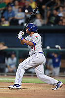 Chattanooga Lookouts pinch hitter Angel Sanchez (37) at bat during game three of the Southern League Championship Series against the Jacksonville Suns on September 12, 2014 at Bragan Field in Jacksonville, Florida.  Jacksonville defeated Chattanooga 6-1 to sweep three games to none.  (Mike Janes/Four Seam Images)