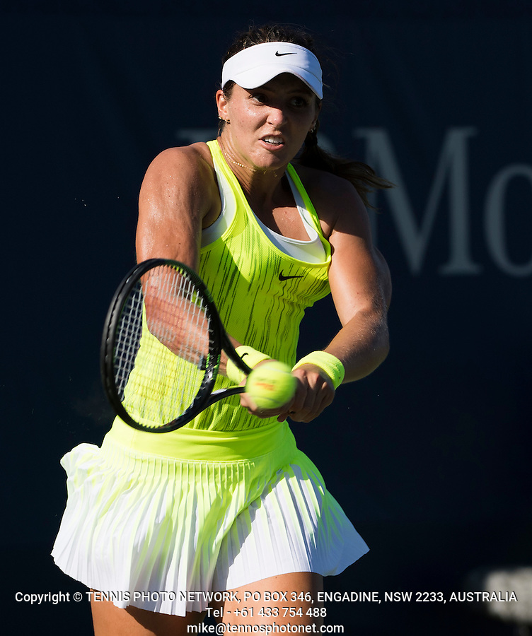 LAURA ROBSON (GBR)<br /> <br /> TENNIS - THE US OPEN - FLUSHING MEADOWS - NEW YORK - ATP - WTA - ITF - GRAND SLAM - OPEN - NEW YORK - USA - 2016  <br /> <br /> <br /> <br /> &copy; TENNIS PHOTO NETWORK