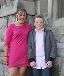Mikey Tuohy with Lynn Moore at Congress Avenue and Fatima Confirmation in St.Mary's Church...(Photo credit should read Jenny Matthews www.newsfile.ie)....This Picture has been sent you under the conditions enclosed by:.Newsfile Ltd..The Studio,.Millmount Abbey,.Drogheda,.Co Meath..Ireland..Tel: +353(0)41-9871240.Fax: +353(0)41-9871260.GSM: +353(0)86-2500958.email: pictures@newsfile.ie.www.newsfile.ie.