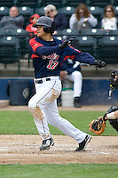 June 1, 2008: Tacoma Rainiers' Yung Chi Chen at-bat during a Pacific Coast League game against the Salt Lake Bees at Cheney Stadium in Tacoma, Washington.