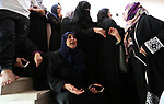 Palestinian women mourn during the funeral of Palestinian Islamic Jihad militant Abdel Halim al-Naqa, 28, who was killed in Israeli tank fire earlier in the day, in Khan Younis in the southern Gaza strip on May 27, 2018. Photo by Ashraf Amra