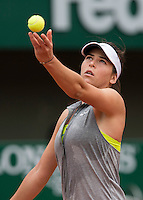 AJLA TOMLJANOVIC (CRO)<br /> <br /> Tennis - French Open 2014 -  Toland Garros - Paris -  ATP-WTA - ITF - 2014  - France <br /> 30th June 2014. <br /> <br /> &copy; AMN IMAGES
