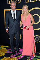 LOS ANGELES, CA. September 17, 2018: Cheryl Hines & Robert F. Kennedy, Jr. at The HBO Emmy Party at the Pacific Design Centre.<br /> Picture: Paul Smith/Featureflash