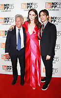 NEW YORK, NY October 01, 2017 Dustin Hoffman, Grace Van Patten, Noah Baumbach attend 55th New York Film Festival premiere of The Meyerowitz Stories at Alice Tully Hall Lincoln Center in New York October 01,  2017.<br /> CAP/MPI/RW<br /> &copy;RW/MPI/Capital Pictures