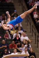 8/16/06 -- Photo By John Cheng -- Visa Championship Men Sr Prelim -- Todd Thorton (Team Chevron) Vault VT