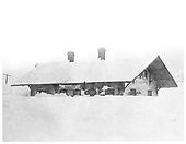 Cumbres station buried in snow.<br /> D&amp;RG  Cumbres, CO  ca 1929