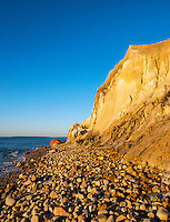 Moshup beach and clay cliffs, Aquinnah, Martha's Vineyard, Massachusetts,, USA